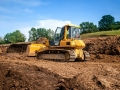 Bulldozers in College Station Texas 2362